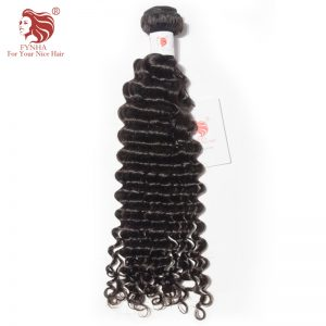[FYNHA] Malaysian Deep Wave Remy Hair Natural Color 100% Human Hair Bundles 10-28 inch Free Shipping