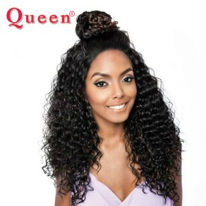 Brazilian Deep Wave Hair Weave 1 bundle 100% Remy Human Hair bundles Extensions Queen Hair Products 3 or 4 bundles For one Head