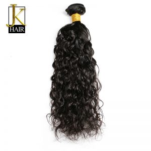 JK Hair Brazilian Natural Wave Human Hair Weave Bundles Natural Color Remy Hair Extension Water Weaving Can Be Dyed Ship Free