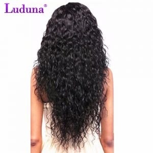 Luduna Brazilian Water Wave Bundles Remy Hair Brazilian Hair Weave Bundles 100% Human Hair Extension Can Buy 3 Or 4 Bundles