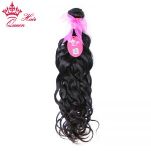 "Queen Hair Products Brazilian Water Wave Remy Hair Natural Color 10"" - 28"" 1 Piece 100% Human Hair Weave Bundles"