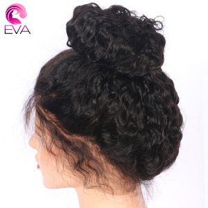 Brazilian Full Lace Wig With Baby Hair Pre Plucked Glueless Human Hair Wigs For Black Women Remy Hair Bleached Knots Eva Hair