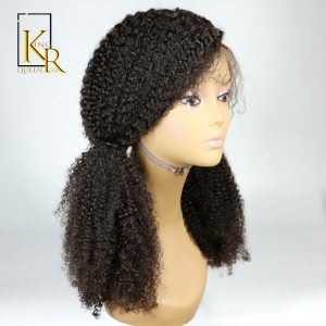 Lace Front Human Hair Wigs For Black Women Remy Brazilian Kinky Curly Wig Pre Plucked With Natural Baby Hair King Rosa Queen