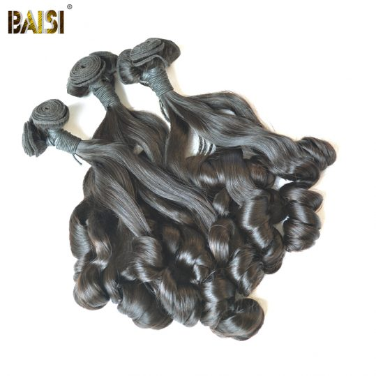 BAISI Brazilian Hair weave bouncy Curly Remy Funmi Hair extension Free Shipping