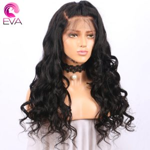"""Pre Plucked Full Lace Human Hair Wigs With Baby Hair Loose Wave Brazilian Remy Hair Lace Wigs For Black Women Eva Hair 14""""-24"""""""