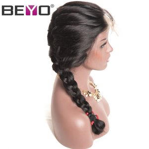 Beyo Glueless Full Lace Human Hair Wigs With Baby Hair Natural Hairline Brazilian Body Wave Wigs For Black Women Non-Remy Hair