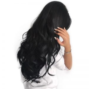Full Lace Human Hair Wigs For Black Women Brazilian Body Wave Remy Hair Wig Pre Plucked With Baby Hair Sunny Queen