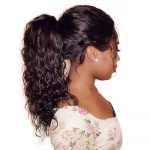 Loose Wave Full Lace Human Hair Wigs for Black Women 130% Density Brazilian Remy Hair With Baby Hair Honey Queen