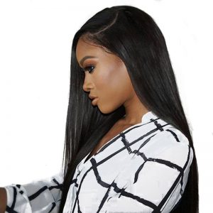 360 Lace Frontal Wig You May Hair 180% Density Human Hair Wigs For Black Women Straight Brazilian Remy Hair Natural Color