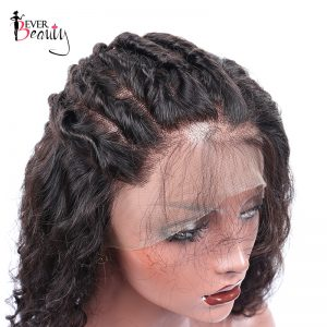 Ever Beauty 360 Lace Frontal Wig 180% Density Remy Brazilian Loose Wave Lace Front Human Hair Wigs For Black Women