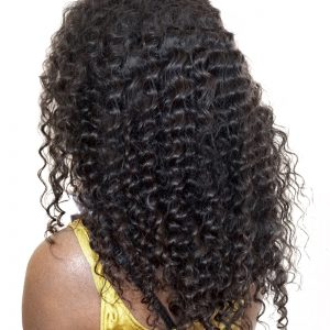 "Brazilian Virgin Hair Deep Wave Bundles 100% Hair Extension Natural Color Human Hair Weave 10""-28"" CARA 1 Piece"