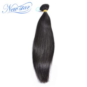 Brazilian Straight Virgin Hair One Bundles 10''-30'' Inches Natural Color 100% Unprocessed Guangzhou New Star Human Hair Weaving