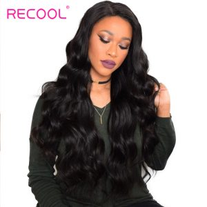 Brazilian Virgin Hair Body Wave Human Hair Bundles Recool Hair Natural Color 1 Piece Deals 100% Unprocessed Human Hair Weave