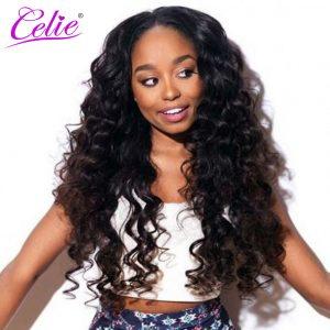 Celie Hair Brazilian Virgin Hair Loose Wave Bundles One Piece 100% Unprocessed Human Hair Weave Bundles Funmi Hair Free Shipping