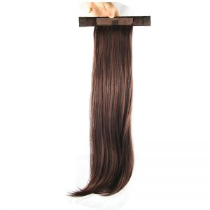 Soloowigs Kinky Straight High Temperature Fiber Long Ponytails 20inch Hair Extensions for Women