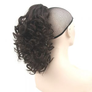 Soowee Short Curly Claw Ponytail Hairpiece Synthetic Hair Little Pony Tail Clip In Hair Extension Postiche Queue De Cheval