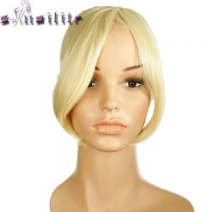 S-noilite Long Clip In on Front Hair Bang Side Fringe Hair Extension Real Natural Synthetic bangs hair piece