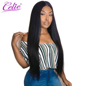 Celie Hair Brazilian Virgin Hair Weave Bundles Natural Color 10-30 inch Unprocessed Straight Human Hair Bundles Free Shipping