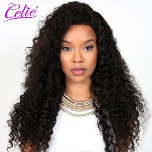 Celie Hair Deep Wave Brazilian Hair Weave Bundles Natural Color Human Hair Can Be Dyed 100% Unprocessed Virgin Hair Bundles