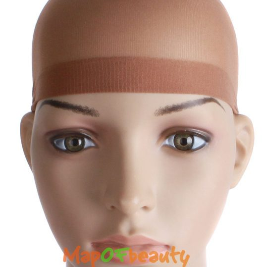 MapofBeauty 10PCS/set Stretchable Cap Mesh Weaving Black Flesh color Wig Hair Net Making Caps Hairnets Hair Mesh synthetic hair