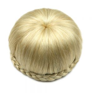 Soowee 6 Colors Synthetic Hair High Temperature Fiber Clip In Hair Braided Chignon Donut Roller Hairpieces Apple Shape Hair Bun