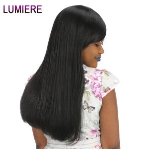 Lumiere Hair Brazilian Straight Lace Frontal 13x4 Ear To Ear Frontal Closure With Baby Hair Free Part Remy Human Hair 8-20 inch