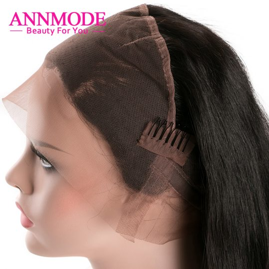 Malaysian Straight Hair 360 Lace Frontal Closure With Hair Extensions Natural Hirline Non-remy Human Hair