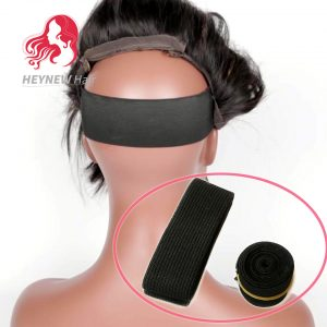 Wholesale Wig Elastic Band 2.5cm Black Color For Making Wigs and Lace Frontal Closure 6PCS/Lot Wig Accessories