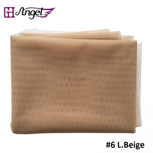 Angels Swiss Lace Net For Wig Making And Wig Caps Lace Wigs Material Lace Closure Accessories 7 colors available #Beige