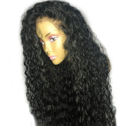 Eva Hair Silk Base Lace Front Human Hair Wigs Pre Plucked Curly With Baby Hair Brazilian Remy Hair Wigs For Black Women