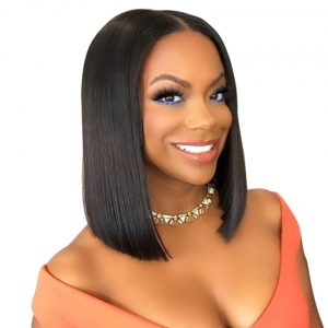 Short Lace Front Human Hair Wigs Brazilian Remy Hair Bob Wig with Pre Plucked Hairline Lace Wig For Black Women